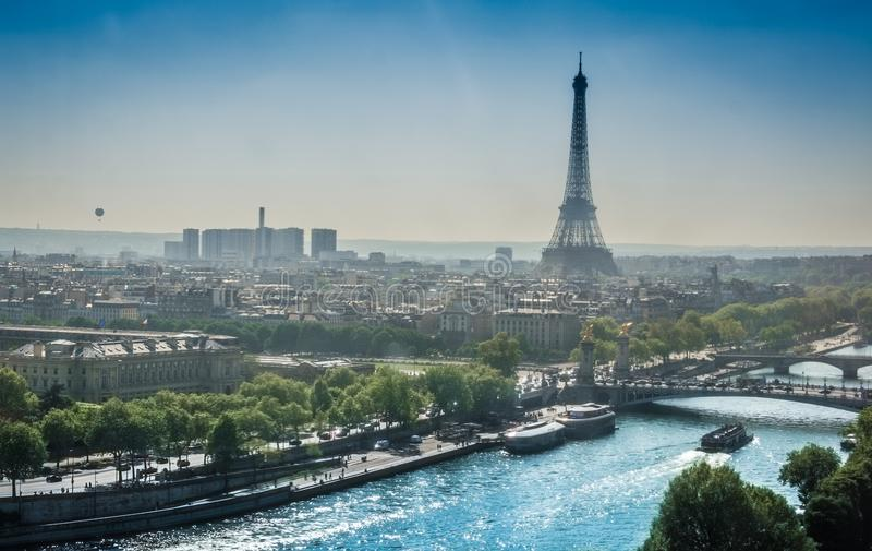 Eiffel tower Paris stock photography