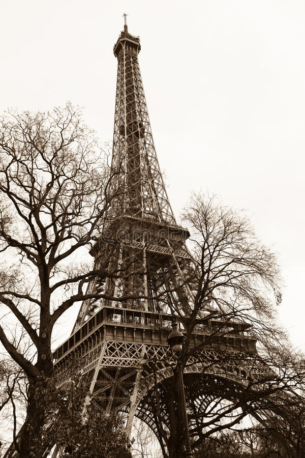 Eiffel Tower Classic stock images