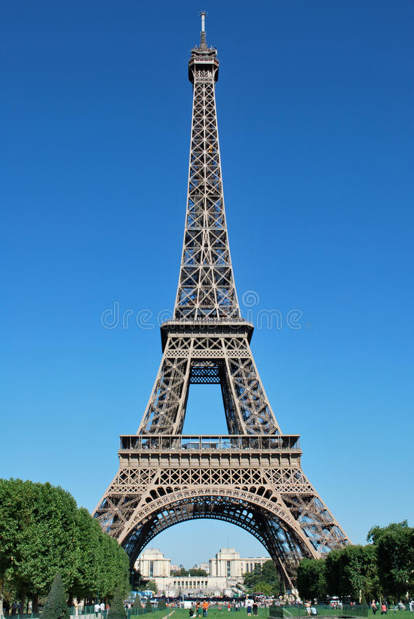 Eiffel Tower by Day royalty free stock images