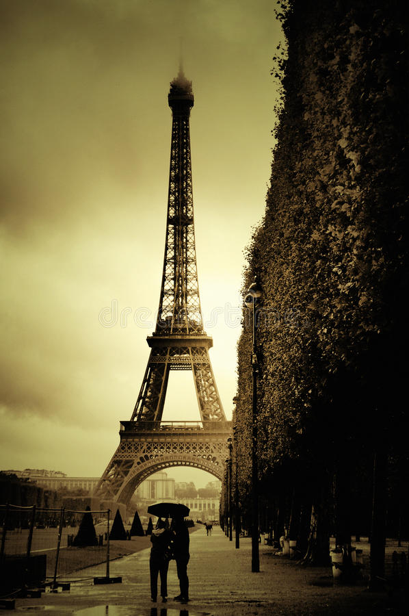 Download Eiffel tower stock image. Image of architectural, historic - 33451447