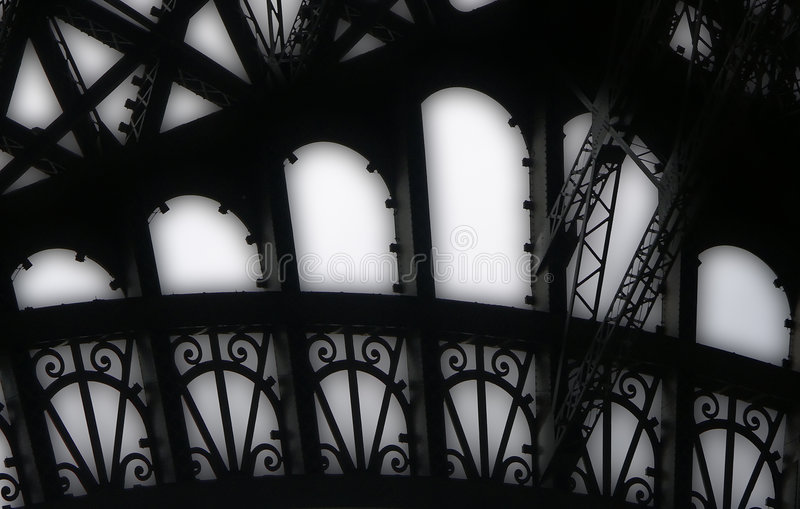 Download Eiffel Tower girders stock image. Image of eiffel, destination - 5230415