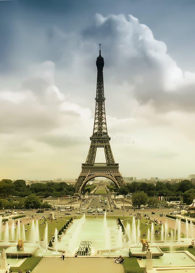 Eiffel Tower, Paris stock photos