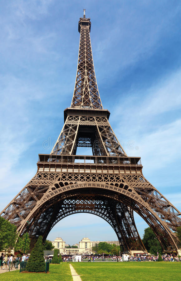 Download The Eiffel Tower in Paris stock image. Image of french - 19625329