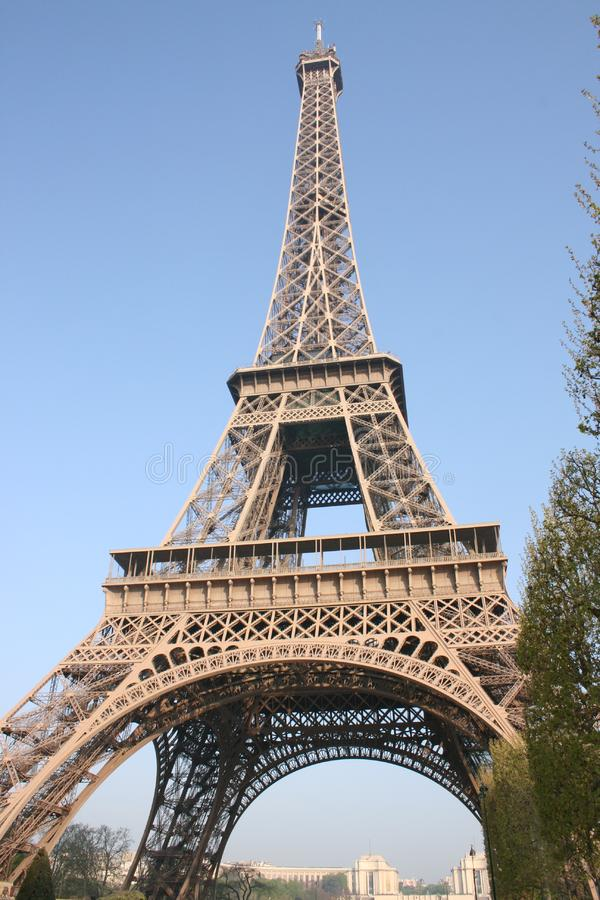 The Eiffel tower, Paris - 3 royalty free stock photo