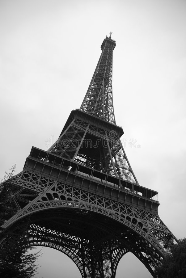 Download Eiffel Tower In Paris Stock Photo - Image: 3805960