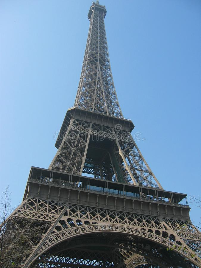 The Eiffel tower, Paris - 4 royalty free stock images