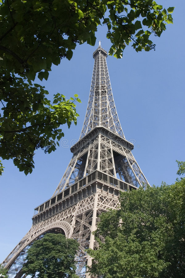 The Eiffel tower - Paris, France royalty free stock image