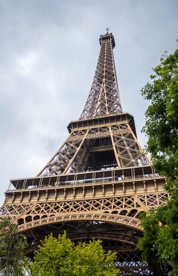 Eiffel tower, Paris, France royalty free stock photos