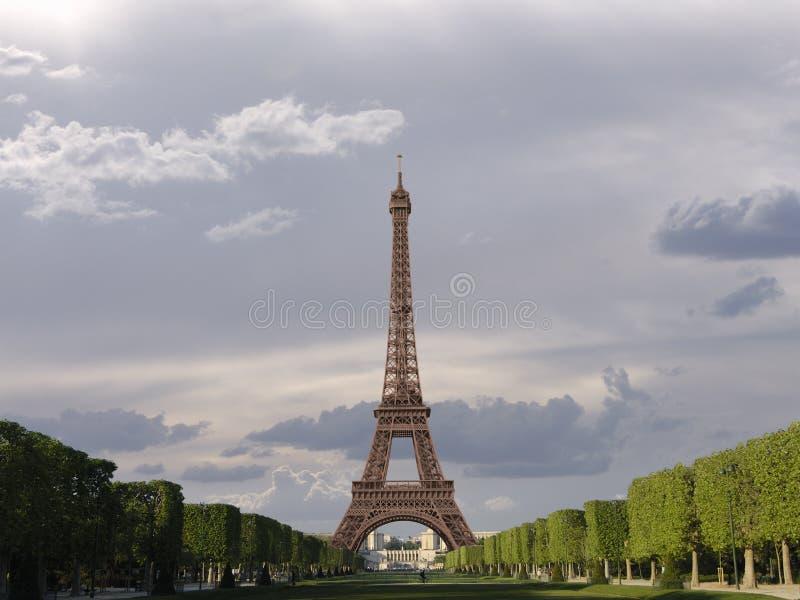 Eiffel tower - Paris - France stock image