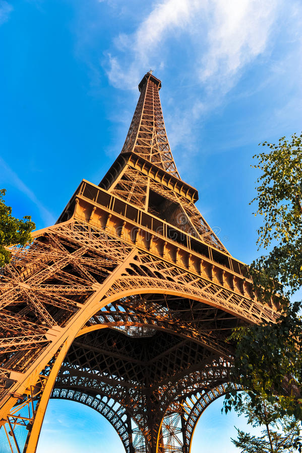 Eiffel Tower Paris France stock photos