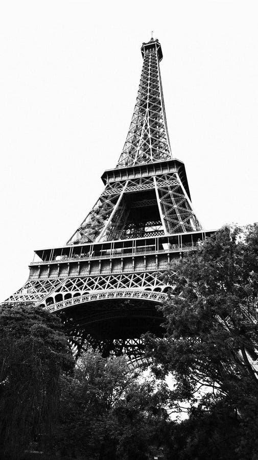 Eiffel Tower -Paris stock images
