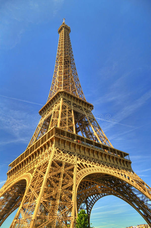 Eiffel Tower, Paris, France stock photo