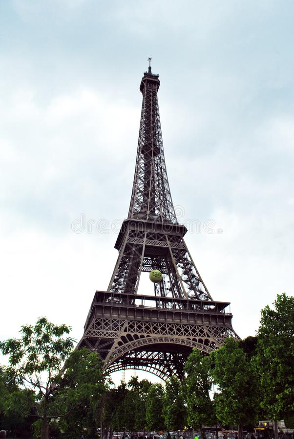 Eiffel Tower 2014 stock photography
