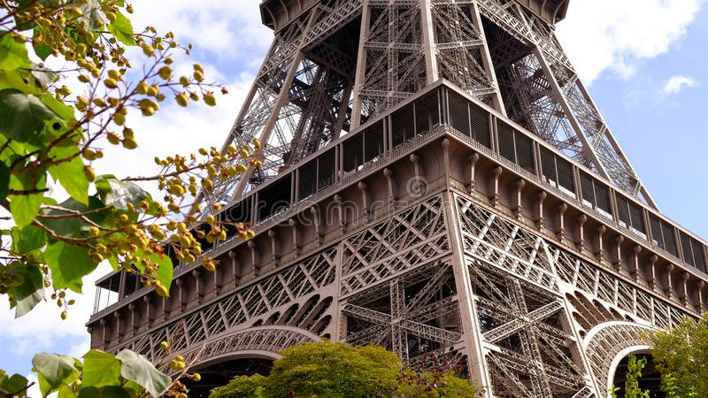 The Eiffel Tower, Paris, France stock photos