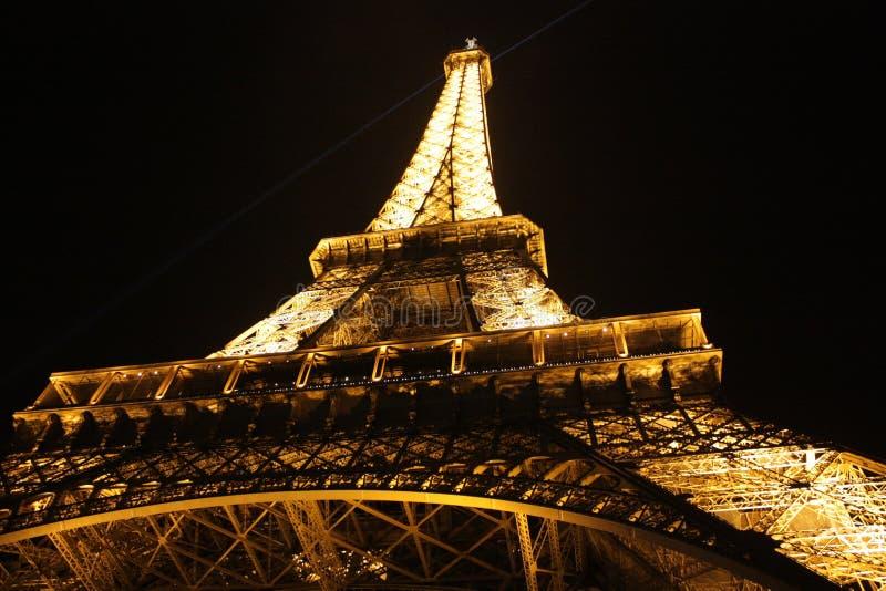 Eiffel Tower, Paris, France At Night Free Public Domain Cc0 Image