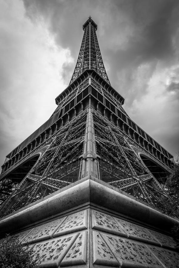 Download Eiffel Tower in Paris III stock photo. Image of iron - 43533440