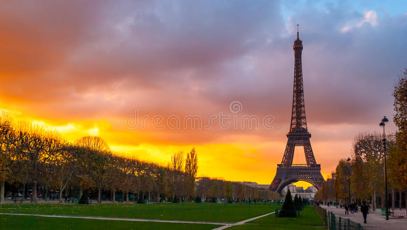 Eiffel Tower, Paris stock photos