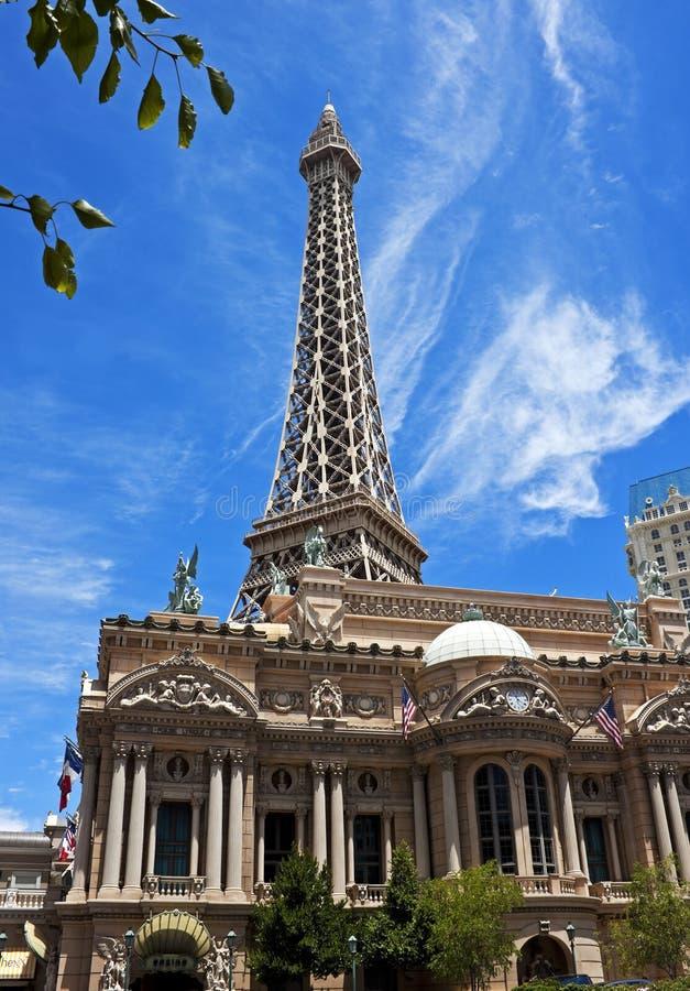 Eiffel Tower replica, Las Vegas stock photography