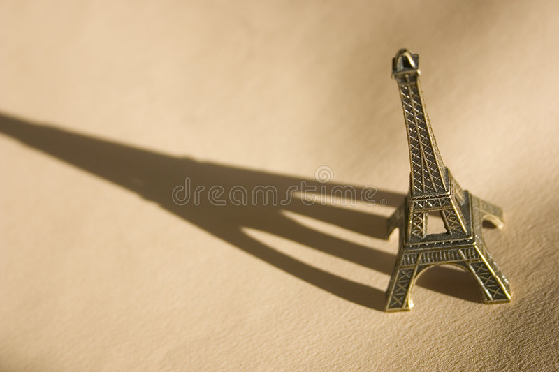 Eiffel Tower souvenir royalty free stock photo