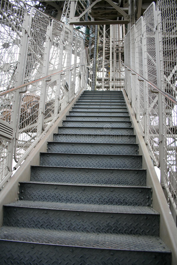 Free Eiffel Tower Stairs Royalty Free Stock Image - 11468716