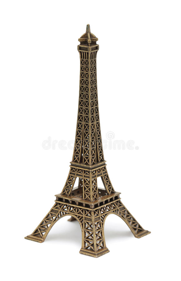 Eiffel Tower Statue, isolated stock images