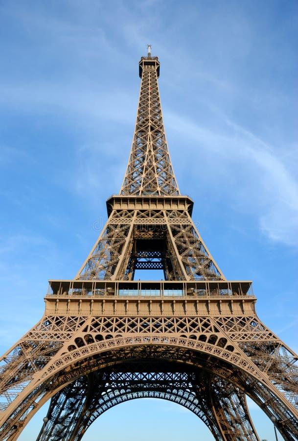 Eiffel tower, summertime royalty free stock photos