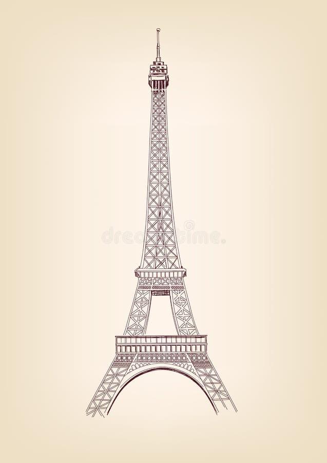 Download Eiffel Tower Vector Illustration Stock Vector - Image: 26935869