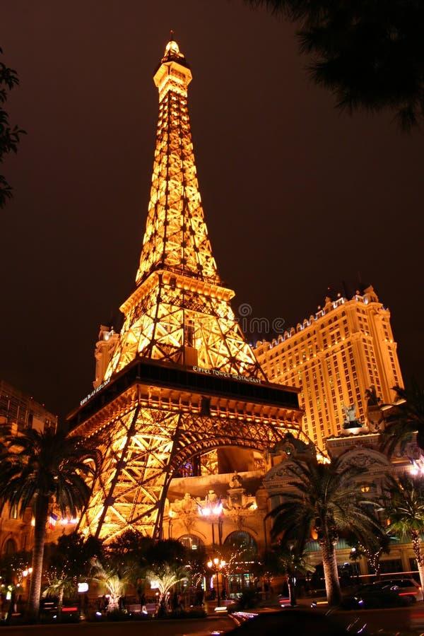 Eiffel Tower at Vegas stock image