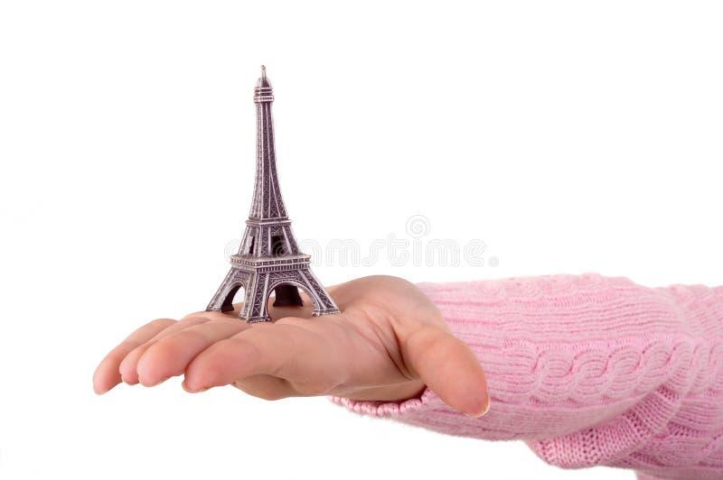 Download Eiffel turnerar fotografering för bildbyråer. Bild av pink - 523425