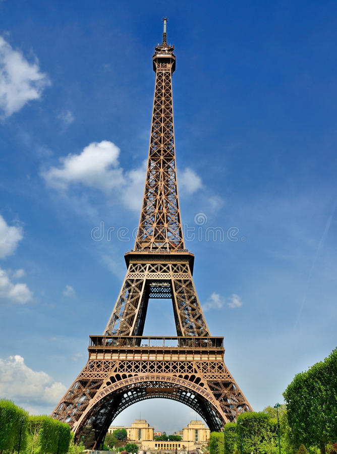 Download Eiffel wierza Paris obraz stock. Obraz złożonej z landmark - 20739433