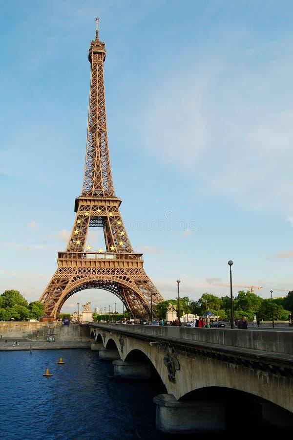 eiffel wierza Paris fotografia stock