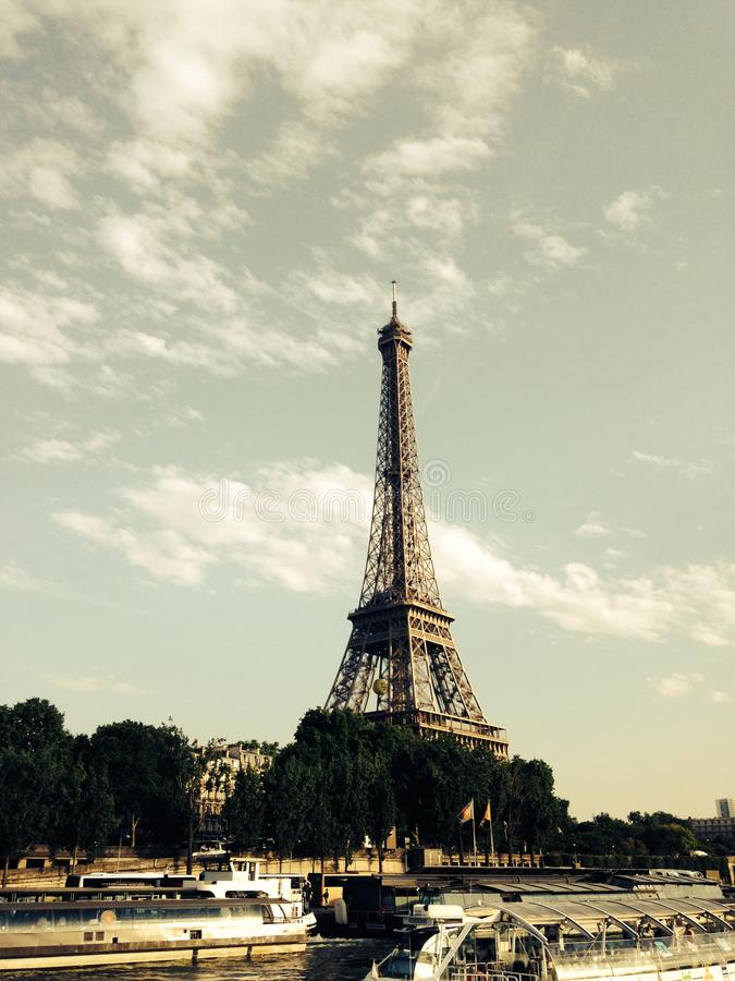 Eiffeltower Paris Eiffel Tower France stock image
