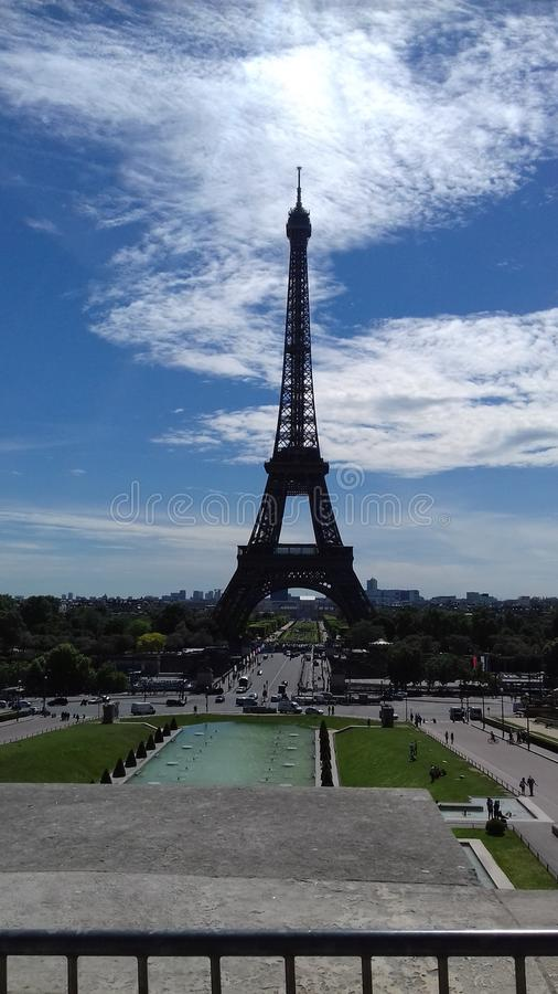Eiffelturm royalty-vrije stock afbeelding
