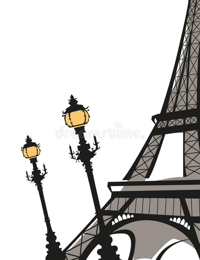 Eiffelturm vektor abbildung