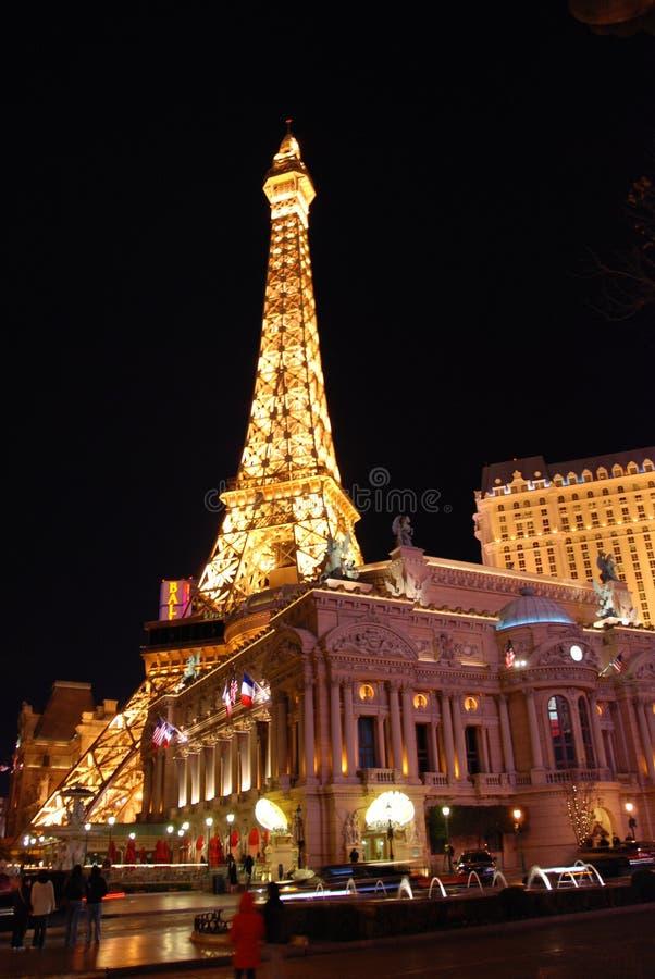 Eiffelturm, Las Vegas stockfotos