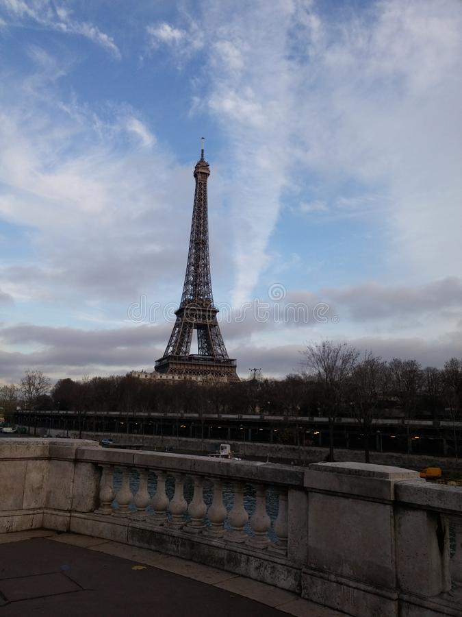 Eiffelturm Paris stockbilder