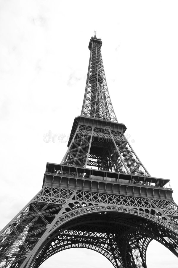 Eiffelturm, Paris stockfotos