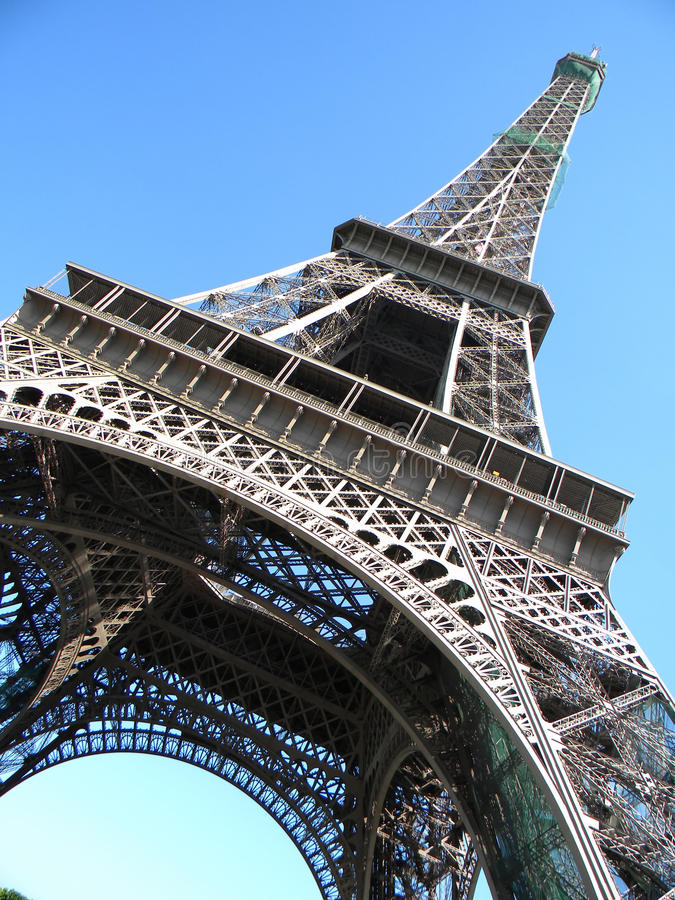 Eiffelturm, Paris lizenzfreie stockbilder