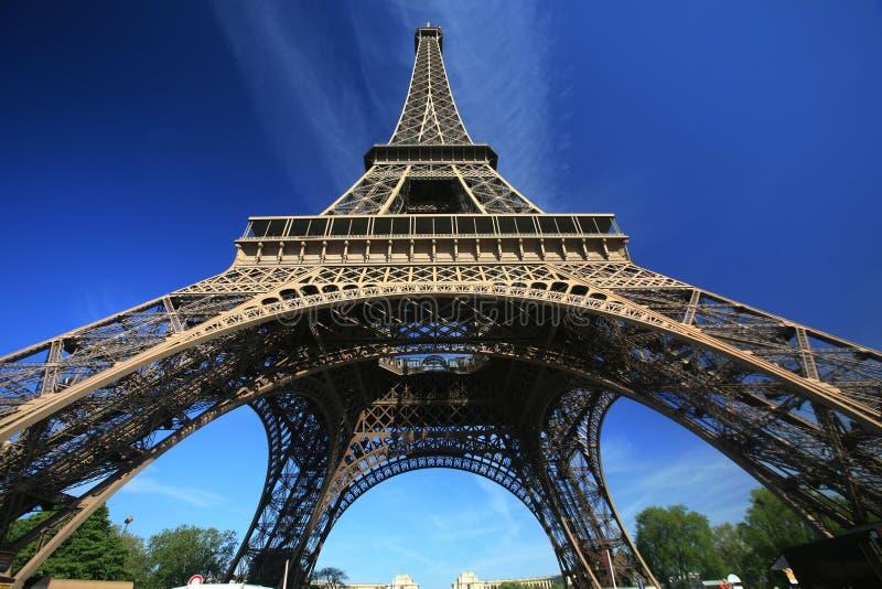 Eiffelturm von Paris lizenzfreie stockbilder