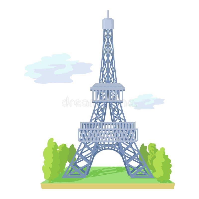 Eiffelturm Karikatur