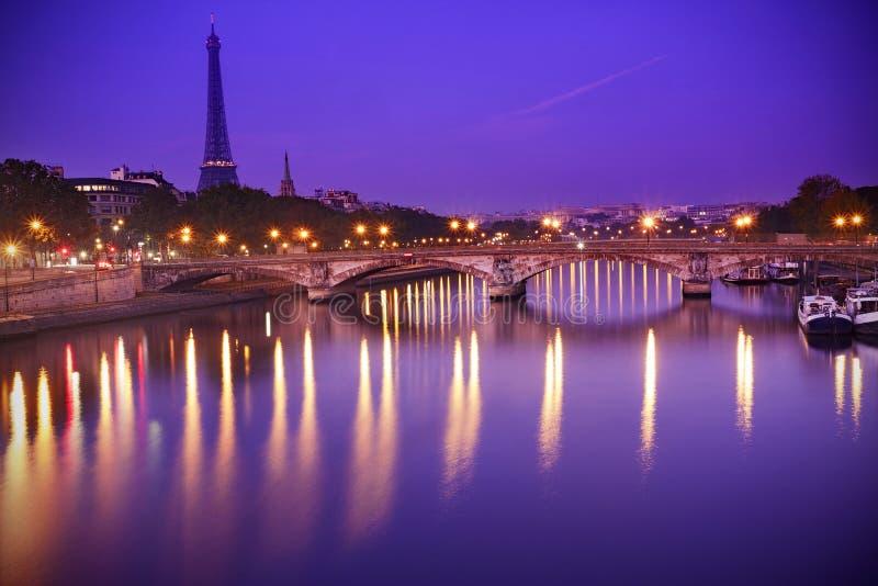 Eiffetl torn, Paris arkivbild