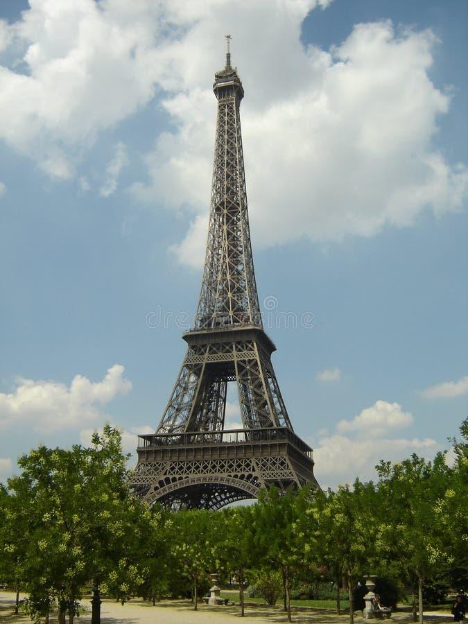 Eifffel Kontrollturm, Paris stockbild