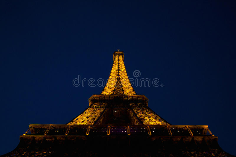 Eiffiel Tower During Night Time Free Public Domain Cc0 Image