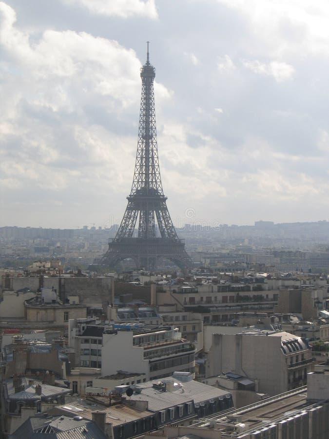 Eifflel Kontrollturm in Paris stockbilder