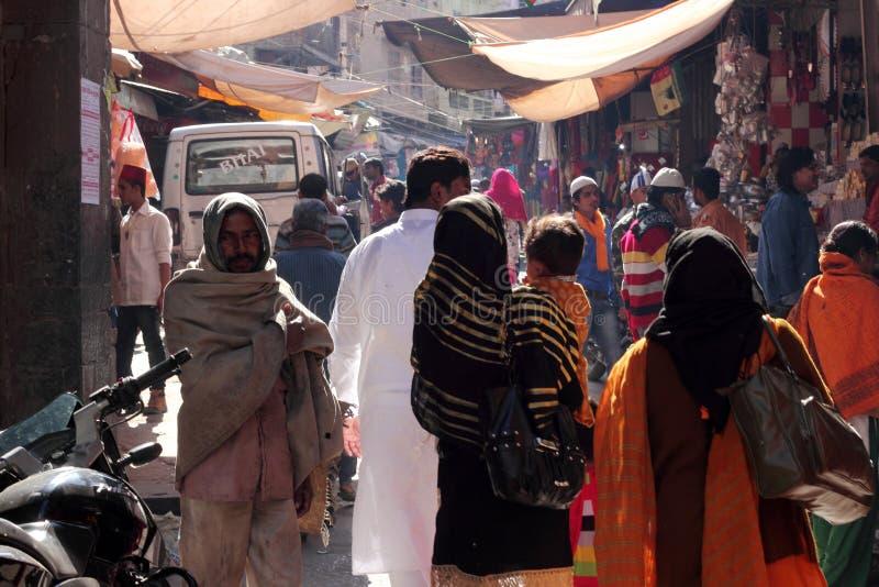 Eifrige Anhänger von Ajmer Durgah lizenzfreie stockfotografie