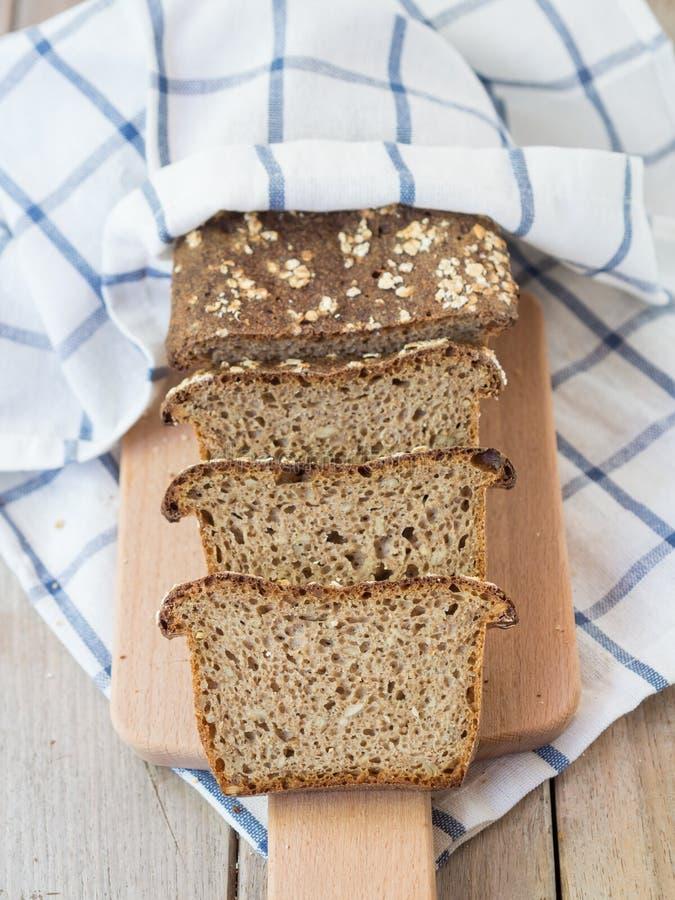 Eigengemaakt brood royalty-vrije stock fotografie