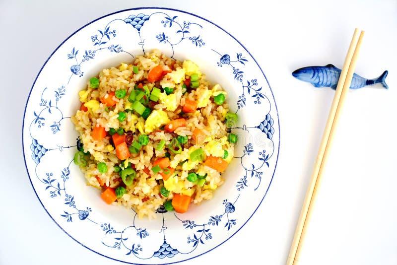 Eigengemaakt Fried Rice stock afbeelding
