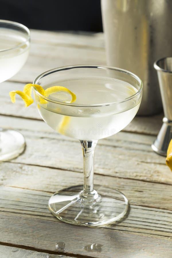 Eigengemaakte Alcoholische Vesper Martini royalty-vrije stock foto's