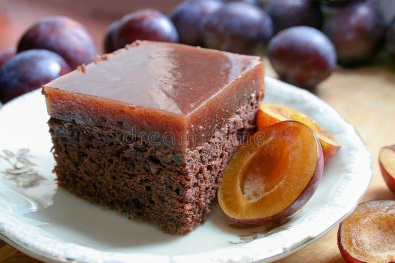 Eigengemaakte cake voor de diverse vakantie stock foto's