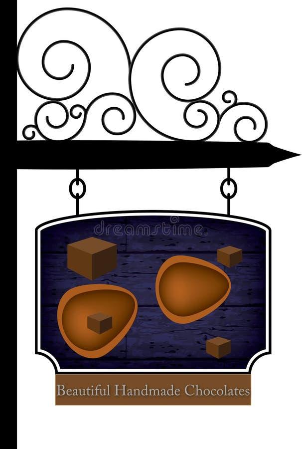 Download Eigengemaakte chocolade vector illustratie. Illustratie bestaande uit eigengemaakt - 29504899